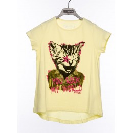 Tee-shirt TIFFOSI Lip jaune