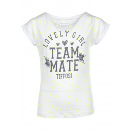 Tee-shirt TIFFOSI Holly blanc