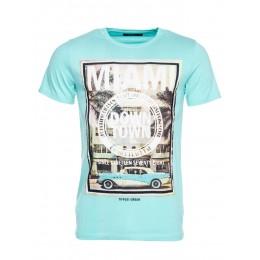 Tee-shirt TIFFOSI Zurich turquoise
