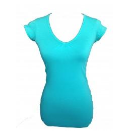 Tee-shirt TIFFOSI Bico Continuidade turquoise