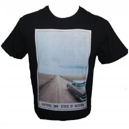 Tee-shirt Kaporal Crudy noir