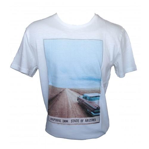 Tee-shirt Kaporal Crudy blanc