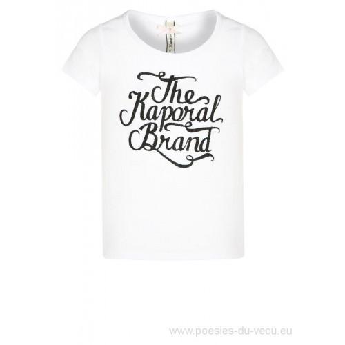 T-shirt KAPORAL Irol blanc