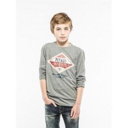 T-shirt PETROL INDUSTRIES gris