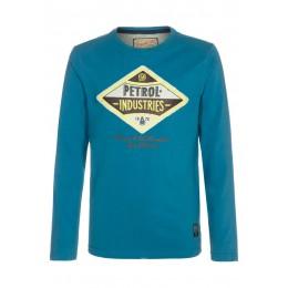 Tee shirt manches longues PETROL INDUSTRIES bleu clair