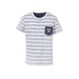 T-shirt TIFFOSI Concordia blanc/gris