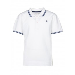 Polo TIFFOSI Switch blanc
