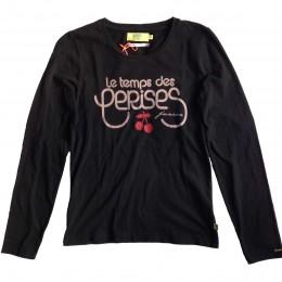 T-shirt LE TEMPS DES CERISES Gala noir