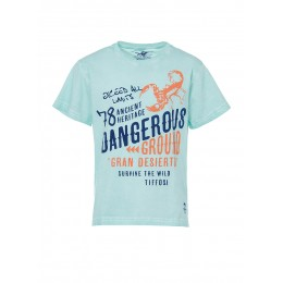 T-shirt TIFFOSI Blue bleu turquoise