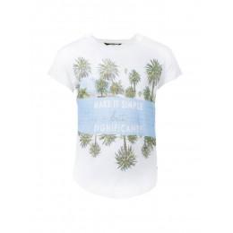 T-shirt TIFFOSI ERITEA blanc