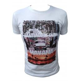 T-shirt AEROPILOT Havana blanc