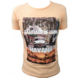 T-shirt AEROPILOT HAVANA orange