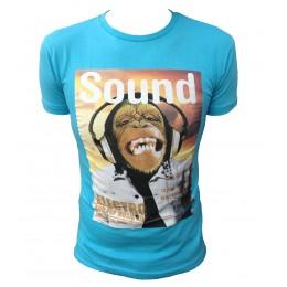 T-shirt  AEROPILOT SINGE bleu