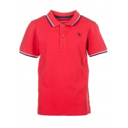 Polo TIFFOSI Switch rouge