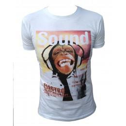 T-shirt AEROPILOT SINGE blanc