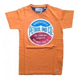 Tee-shirt Petrol Industries TSR609 - Orange - Pour enfants et ados manches courtes