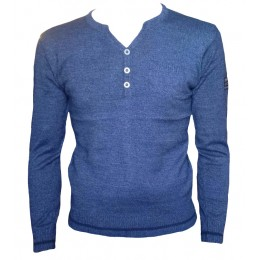 Pull Scott & Fox bleu
