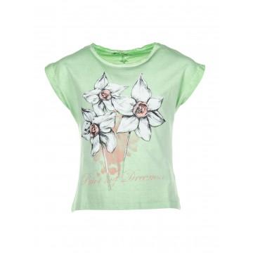 Tee-shirt TIFFOSI Barbados vert