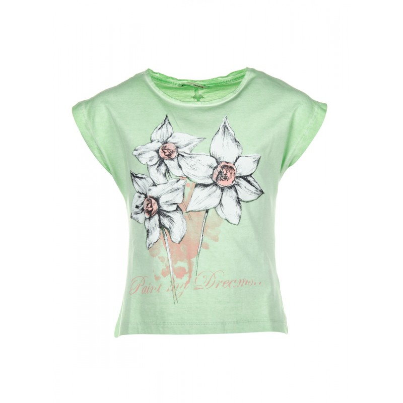 7a0cf5b57a91f Tee-shirt TIFFOSI Barbados vert
