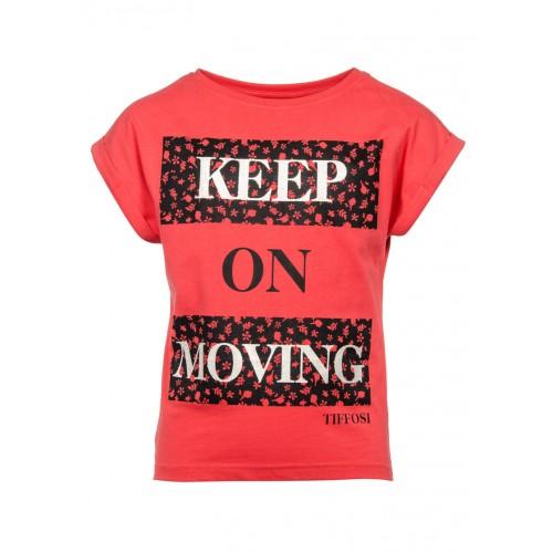 Tee-shirt TIFFOSI Adelaide rouge